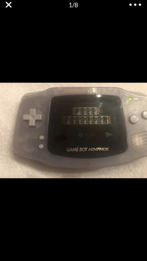 GAME BOY ADVANCE Includes 5 Games & Fresh batteries for Sale in Aurora, IL