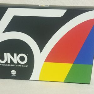 Uno 5Oth Anniversary Card Game for Sale in Poway, CA