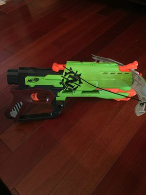 Nerf gun with bullets for Sale in Springfield, VA