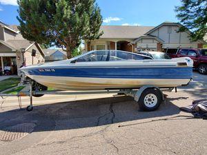 Capri Bayliner 19' boat with a trailer for Sale in Littleton, CO
