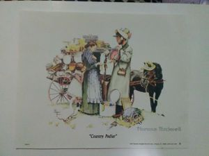 Norman Rockwell prints for Sale in La Rose, IL