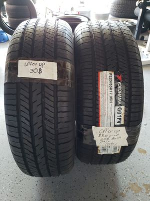 Yokohama 225/55r/17 tires for Sale in San Diego, CA