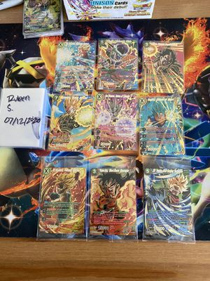Dragonball Super Rise of the Unison Warrior Extras for Sale in Carson, CA