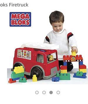 Mega blocks fire trucks toys for Sale in Alexandria, VA