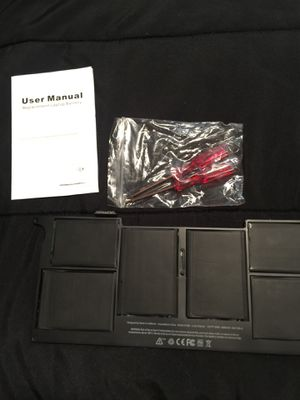 Replacement laptop battery model A1406 MacBook Air 11 inch for Sale in Mount Vernon, OH
