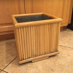 Bamboo Framed Planter Box for Sale in Tustin, CA