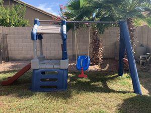 Little tiles swing set for Sale in Avondale, AZ