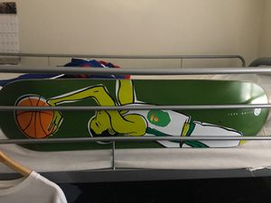 Girl skateboard size 8 new with bape for Sale in Fontana, CA