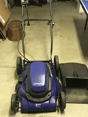 Electric lawn mower for Sale in Escondido, CA