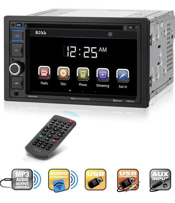BRAND NEW BOSS AUDIO INDASH TV RADIO NEVER BEEN USE