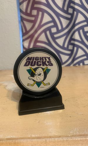 Mighty ducks puck and ticket for Sale in San Marcos, CA