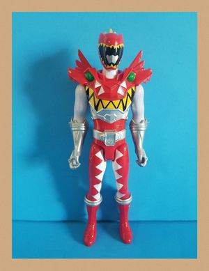 """Power Rangers Dino Super Charge 12"""" T-rex Super Charge Red Ranger for Sale in Sanford, FL"""