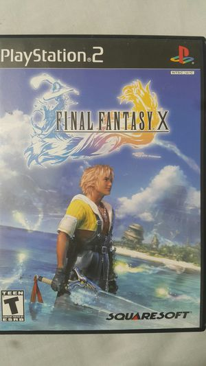 FINAL FANTASY X FOR PS2 for Sale in Miami Gardens, FL