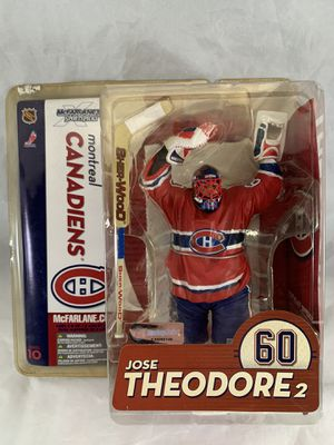 McFarlane Toys NHL Sports Picks Series 10 Action Figure Jose Theodore (Montreal Canadiens) Red Jersey for Sale in Keansburg, NJ