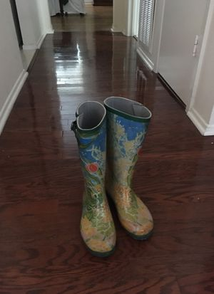 Rubber Water Proof Boots Size 6 for Sale in Houston, TX