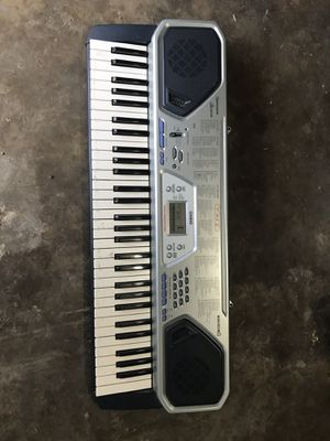 Casio CTK 491 electric piano keyboard 61 keys 100 tones rhythms and song for Sale in Fort Worth, TX