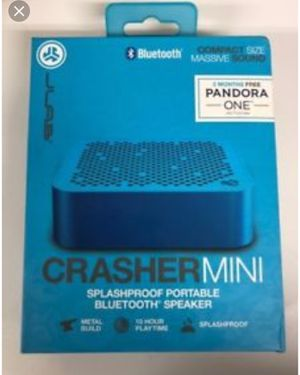 JLab Audio Crasher Mini Wireless Bluetooth Speaker for Sale in Joliet, IL
