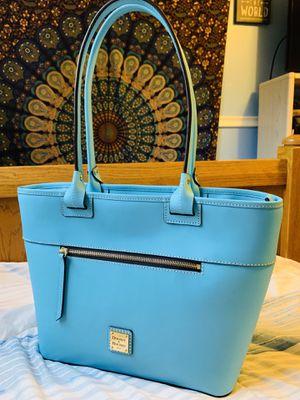 Dooney and Bourke Beacon Zip Tote in Stunning Light Blue!!! for Sale in Livonia, MI