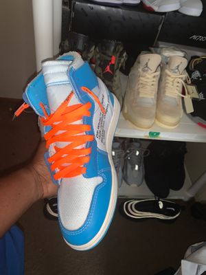 UNC OFF WHITE JORDAN 1 for Sale in Aliceville, AL