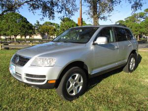 2004 VW Touareg 4WD 63,742 Low Miles Navigation Leather Tires 99% for Sale in Oakland Park, FL