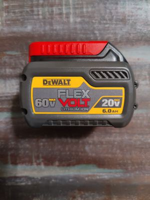 DCB606 DeWalt Flexvolt battery 6.0ah for Sale in McGaheysville, VA