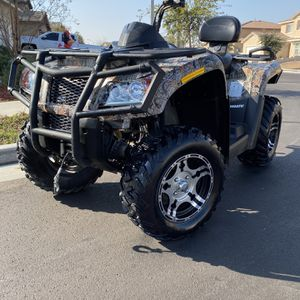 2014 Coleman trail tamer 800 4x4 With only 25 hours Trailer is a 2013 package deal for Sale in Jurupa Valley, CA