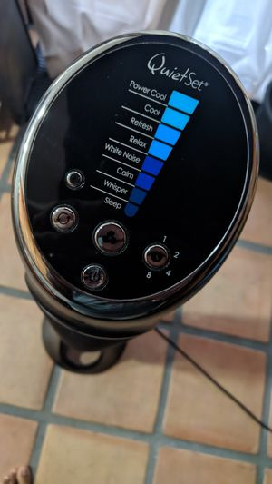 Honeywell Quietest Tower Fan for Sale in Santa Cruz, CA