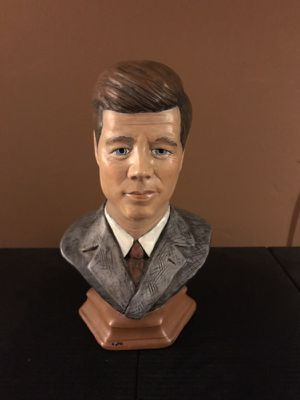 "John F Kennedy 9"" Ceramic bust for Sale for sale  Hermosa Beach, CA"