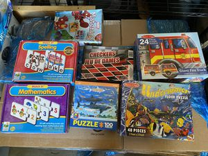 puzzles and matching games for Sale in Artesia, CA