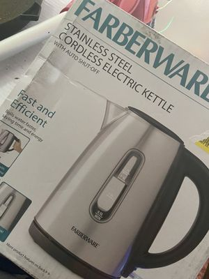 CORDLESS KETTLE for Sale in Kingsport, TN