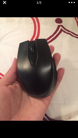 Wireless optical black mouse for Sale in Houston, TX
