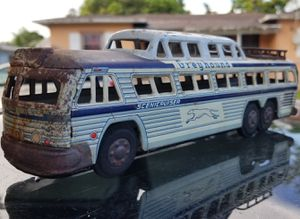 Antique Greyhound Tin Friction Toy Bus for Sale in Miami, FL