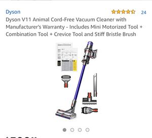 DYSON V11 animal vacuum, New for Sale in East Los Angeles, CA