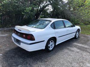 2001 Chevy Impala CLEAN TITLE NEEDS NOTHING SOLID CAR SUNROOF for Sale in Lakeland, FL