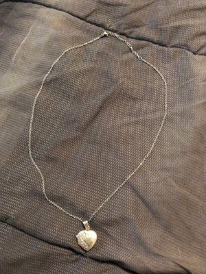 Sterling Silver heart locket for Sale in Rockville, MD