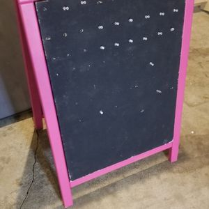 Heavy Duty Wood Folding Display Board/sign W/carrying Case for Sale in Vancouver, WA