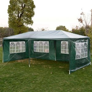 Heavy duty Outdoor Canopy Party Wedding Tent Cater Green Gazebo Pavilion for Sale in Casper, WY