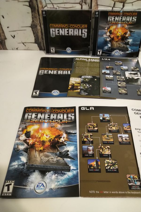 Command Conquer Generals Pc Games
