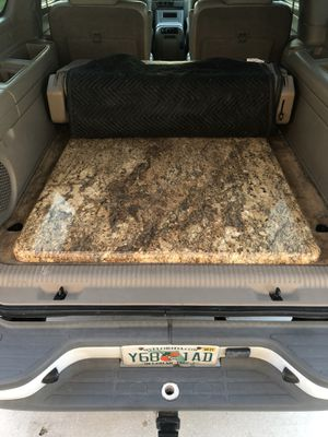 Cut and polished piece of granite for Sale in Fort Myers, FL