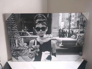 Audrey Hepburn 2'x3' Portrait for Sale in El Monte, CA