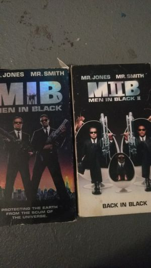 MIB1&2 vhs for Sale in Missoula, MT