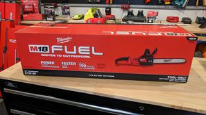 Milwaukee m18 chainsaw for Sale in Tacoma, WA