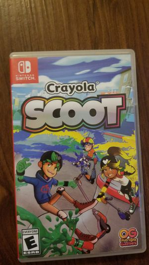 Crayola scoot nintendo switch for Sale in Burbank, IL