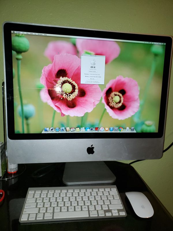 Imac 2007 OS X 24 INCH for Sale in Mission, TX - OfferUp