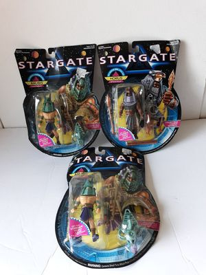 Lot of 3 Action Figures 1994 Stargate for Sale in Lakewood Township, NJ