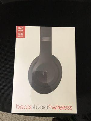 Beats Studio 3 Matte Black for Sale in Walnut Creek, CA