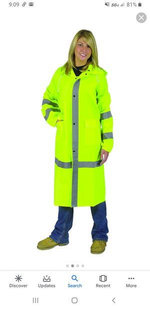 "Galeton Repel Rainwear Reflective Raincoat, 35 Mil, 46"""", Men's Size XX-Large Lime #8000965-XXL-LI for Sale in Las Vegas, NV"
