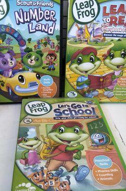 Leap Frog Dvd Kids Learning for Sale in Denver,  CO