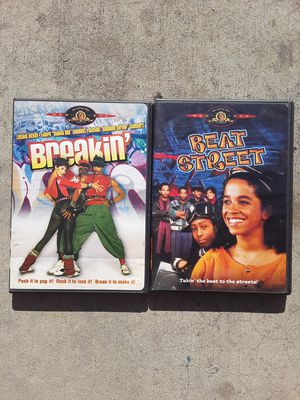 Beat Street and Breakin DVDs for Sale in Fresno, CA