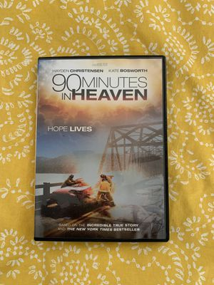 90 Minutes in HEAVEN. EXCELLENT Movie. Watch it then pass it on. for Sale in Port St. Lucie, FL